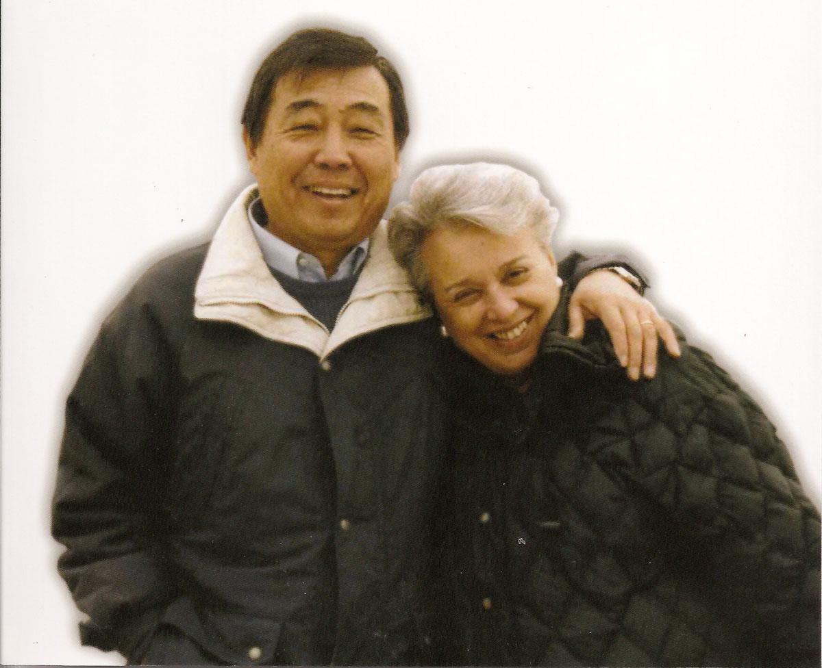 Hideyuki e Marisa