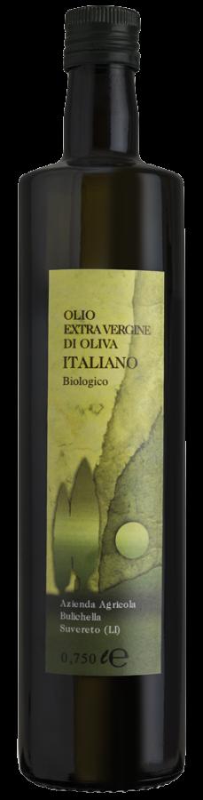 Olio extravergine Italiano biologico Bulichella